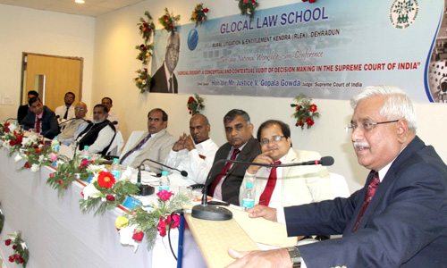 Glocal Law School Conference - National Workshop-cum-Conference on Judicial Dissent