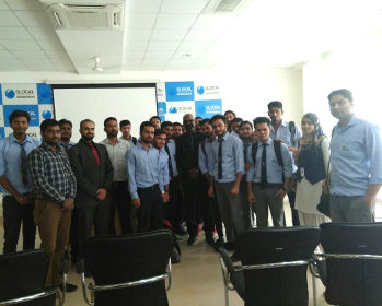 Mr. Joy Vargheese, (MD of Rig Tech) interacted with Petroleum Engineering students at Glocal University