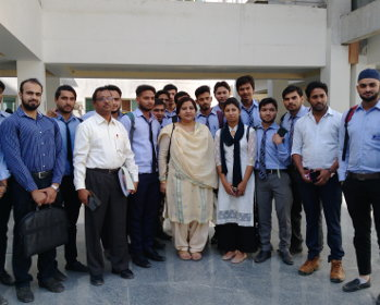 Prof. Najam Sardar from Department of Petroleum Studies AMU, Aligarh, visited and delivered a lecture on Petroleum Refining at Glocal University