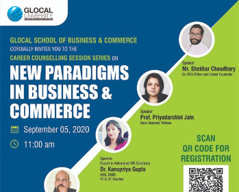 Glocal University invites you to attend the webinar on the topic