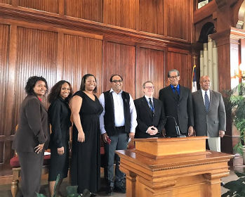 Prof. Khalid Anis Ansari as Scholar-in-Residence in the historic Tougaloo College, Jackson MI (US)