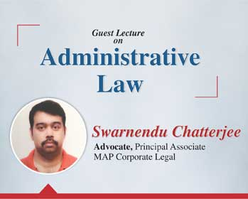 Guest Lecture on Administrative Law at Glocal University