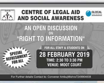 Center Of Legal Aid And Social Awareness