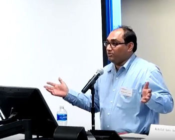 Prof. Khalid Anis Ansari in University of Michigan