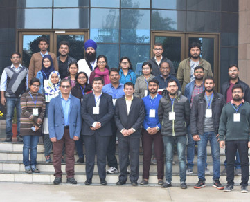 Prof. Amjad Husain was recently invited to deliver a talk in a Workshop