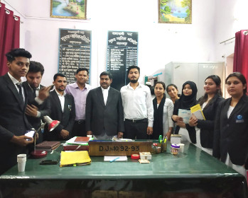 Glocal Law School organized an expedition for Court Visit to the District and Sessions Court