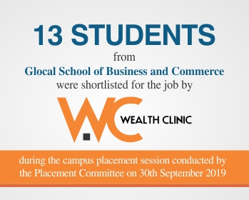 Glocal University Latest Placement News